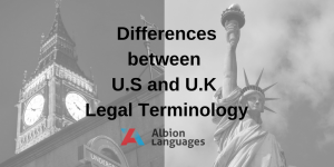 Difference between UK and US Legal Terminology
