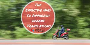 urgent translations