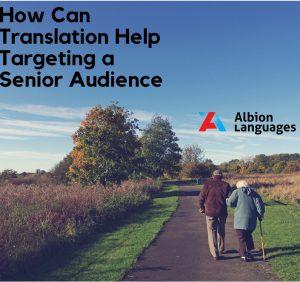 Senior citizen localization