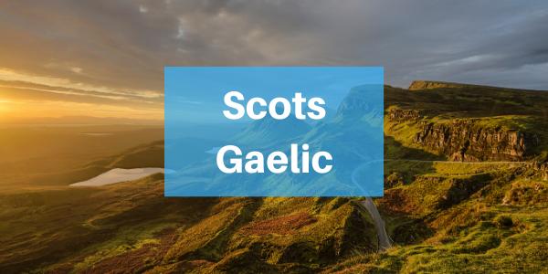 Scots Gaelic