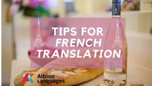 tips for french translation0