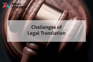 Challenges of legal translation