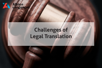 Challenges of legal translation